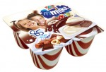 Mmilky mix, milk dessert with Cream & Hazelnut Chocolate 4x62,5g