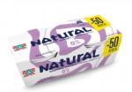 Natural κρεμώδες γιαούρτι,  0% λιπαρά 3x200γρ
