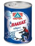 Vlahas condensed full fat milk with +35% calcium 410 gr
