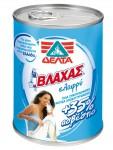 Vlahas condensed light milk with +35% calcium 410 gr