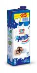 Mmmilk οικογενειακό πλήρες γάλα υψηλής θερμικής επεξεργασίας 1lt