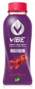 VIBE by LIFE Energy Juice Drink Raspberry & Goji Berry 330 ml