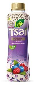 Life Tsai Green Tea Blueberry and Raspberry, 500ml