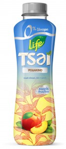 Life Tsai 0% Sugar Peach, 500ml