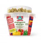 ΔΕΛΤΑ στραγγιστό γιαούρτι 2% Πολύχρωμες πιπεριές και κρητικά κριτσινάκια 150g