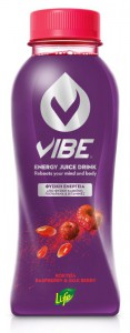 VIBE by LIFE Energy Juice Drink Raspberry & Goji Berry 330 ml