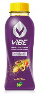 VIBE by LIFE Energy Juice Drink Tropical Fruits 330 ml